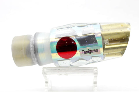 "Tanigawa Lures Ice Rainbow Cracked Glass 4-Hole Reverse Slant 9""+ 8oz"
