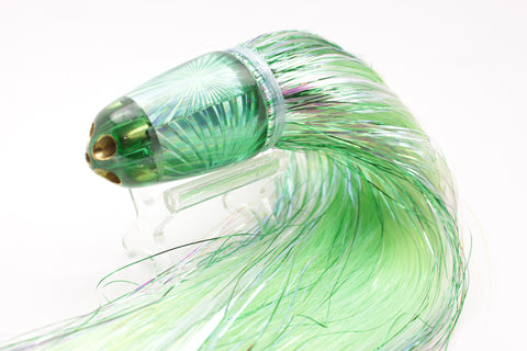 "Koya Lures Dorado Starburst 4-Hole Clean Sweep 1/4 Jet 10"" 7.5oz Flashabou"