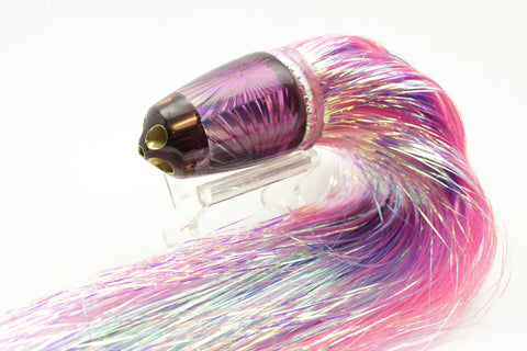 "Koya Lures Purple Starburst 4-Hole Clean Sweep 1/4 Jet 10"" 7.5oz Flashabou #3"