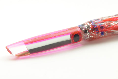 "Coggin Lures Mirror Pink Glitter Back Pencil Stick Swimmer 5.5"" 2oz"