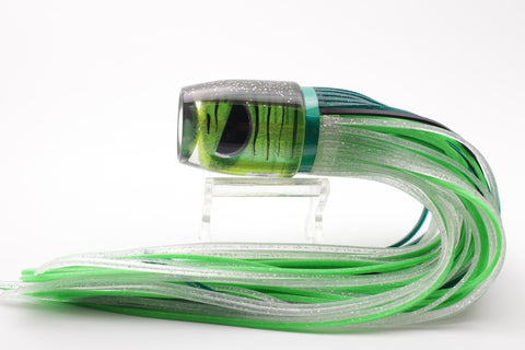 "Amaral Lures Metallic Green Tiger Jararaca 12"" 4oz"