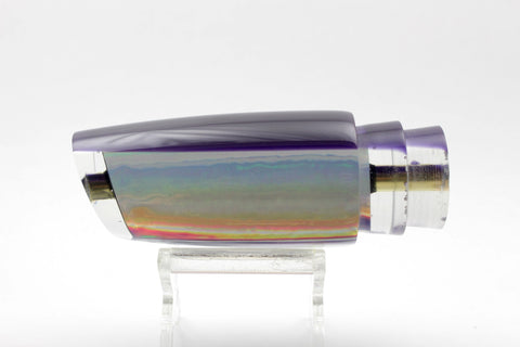 "Koya Lures Clear Rainbow Purple Back Small 614 10"" 5oz"