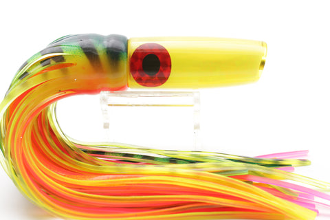 "Coggin Lures Yellow Fire Tiger Malolo Fying Fish 9"" 3.5oz"