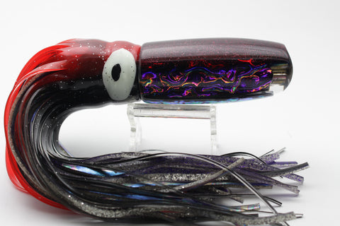 "Coggin Lures Purple Dichro Red Back Kaibobo 12"" 9oz"