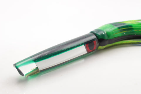 "Coggin Lures Mirrored Green Back Pencil Stick Swimmer 5.5"" 2oz"