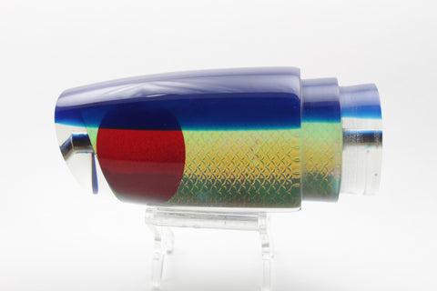 "Koya Lures Rainbow Scale Blue Back MPD 16"" 9.5oz"