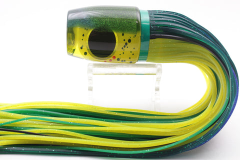 "Amaral Lures Yellow Mahi Mahi Green Back Jararaca 12"" 4oz"