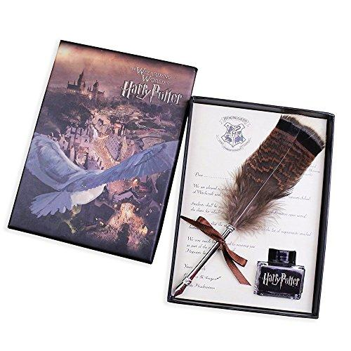 Harry Potter Writing Quill & Ink Dip Pen Set