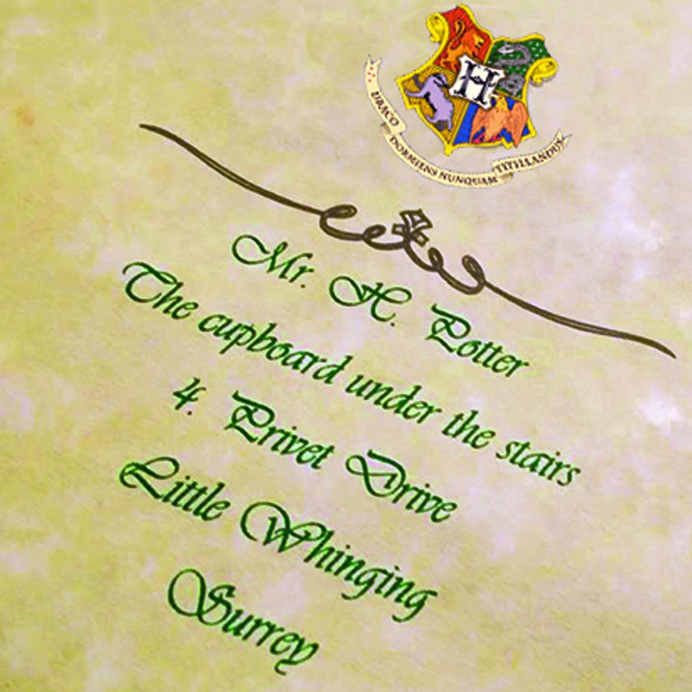 Harry Potter PERSONALIZED Hogwarts Acceptance Letter Express