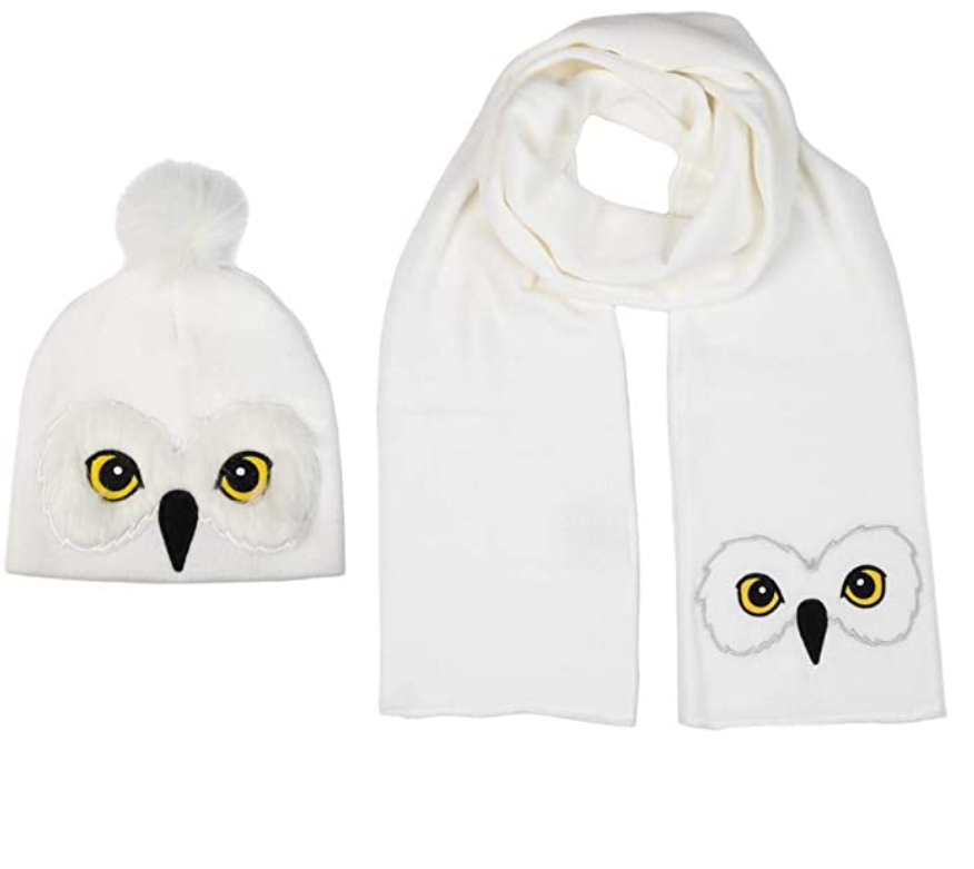 Harry Potter Hedwig Scarf Hat Set
