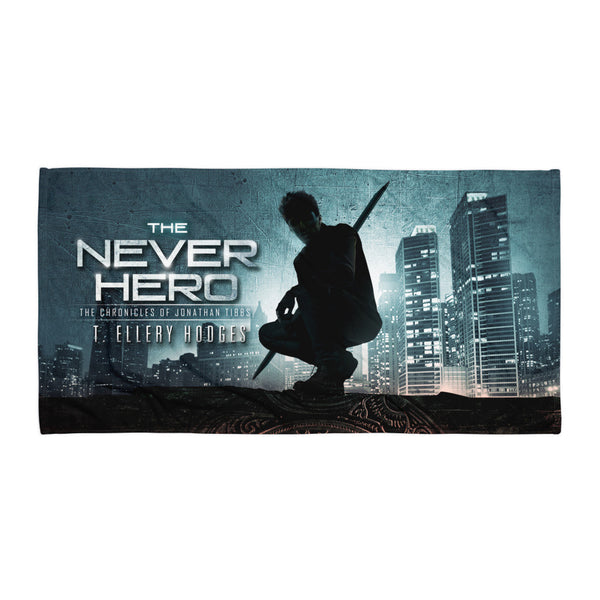 The Never Hero Beach Blanket
