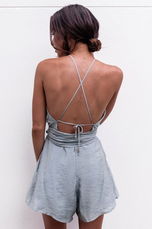 backless boho jumpsuit