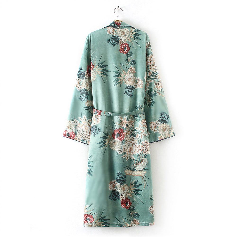 knee length kimonos