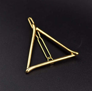 Bohemian Triangle Hair Clip