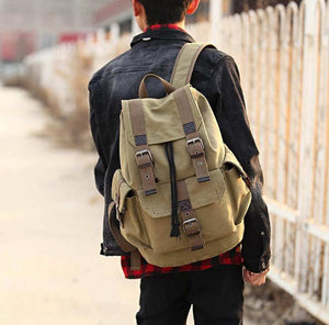 Traveller Canvas Backpack