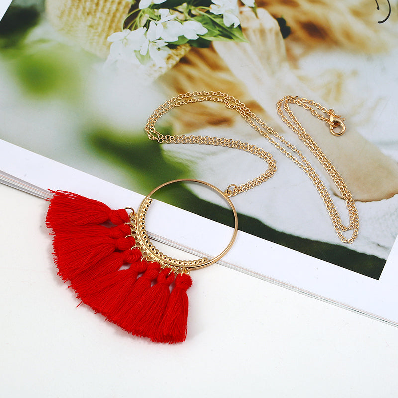 bohemian necklace online