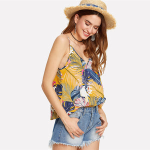 Off To The Ocean Tropical Blouse