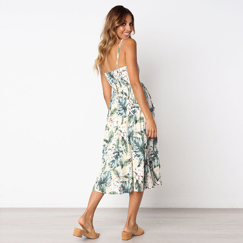 Frond of You Midi Dress