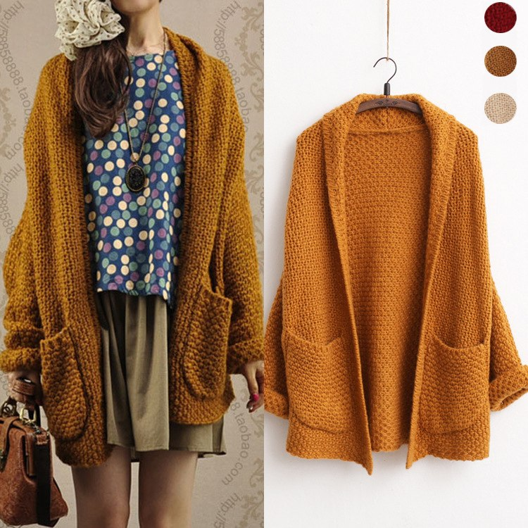 Knitted Bohemian Sweater