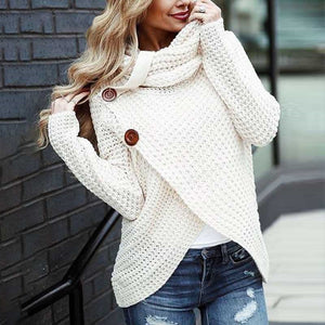 Comfy As Can Be Button Sweater