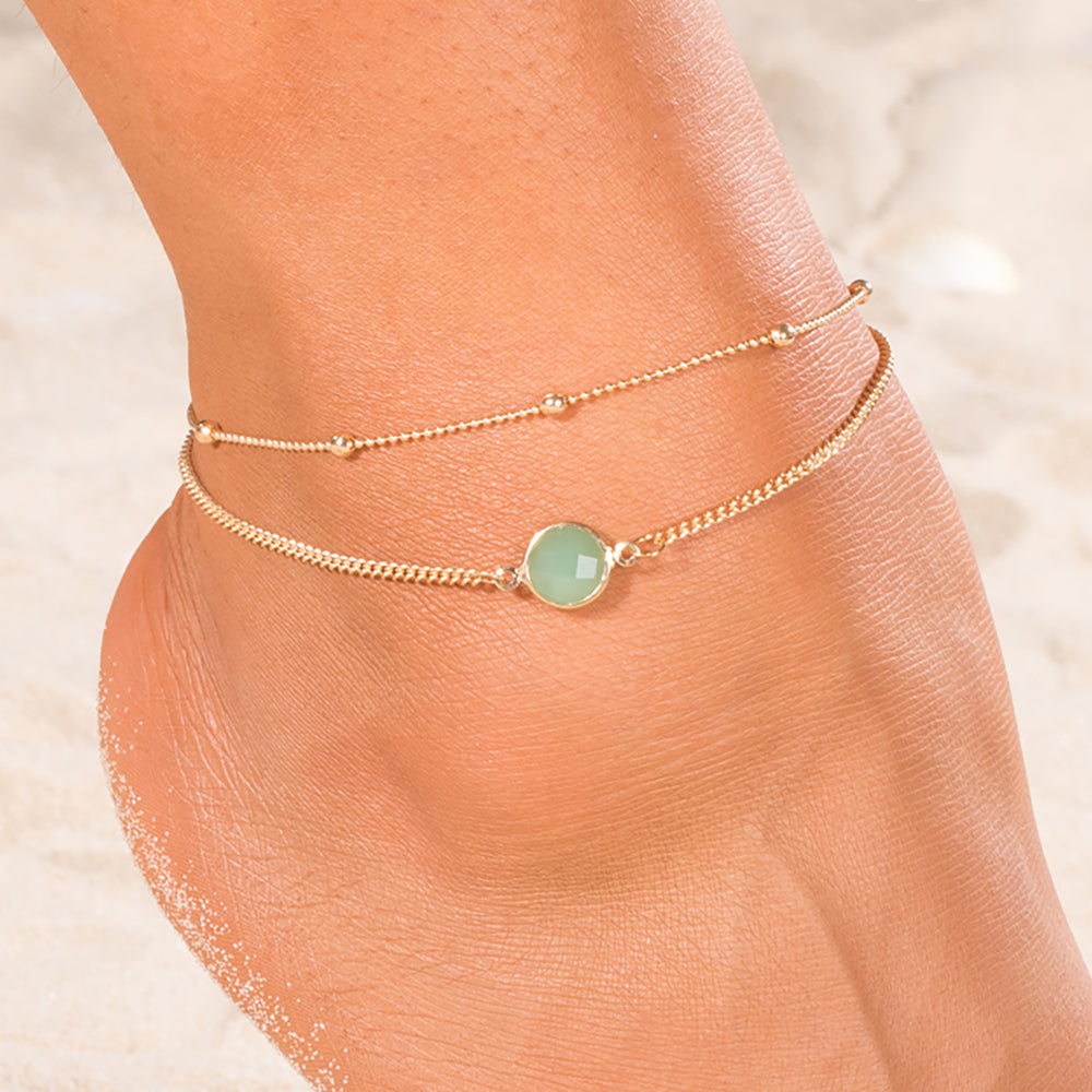 Green With Envy Anklet