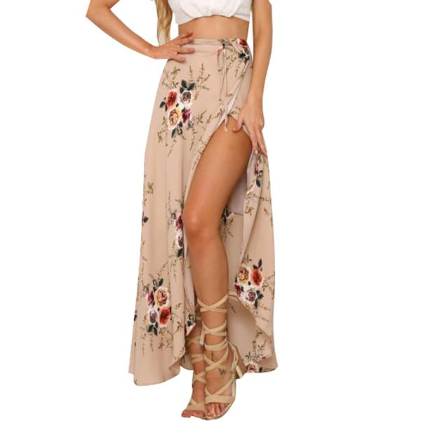 Show-Off High Slit Skirt