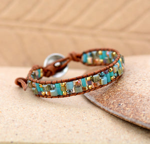 Tree of Life Boho Leather Bracelet