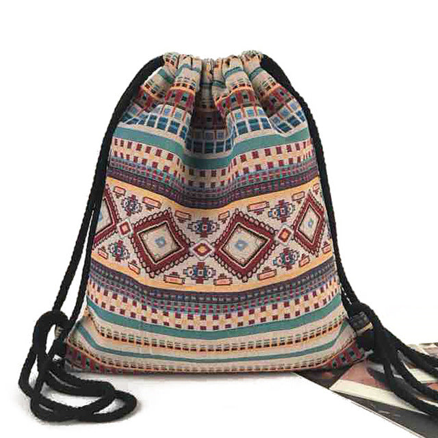 Bohemian Chinch Bag