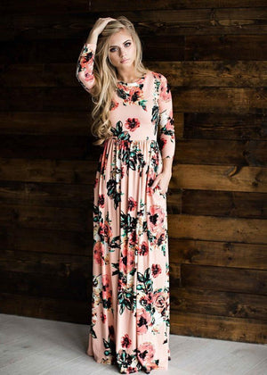 Rose Above Blooming Maxi Dress