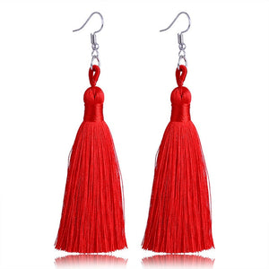 Bohemian Punk Tassel Earrings