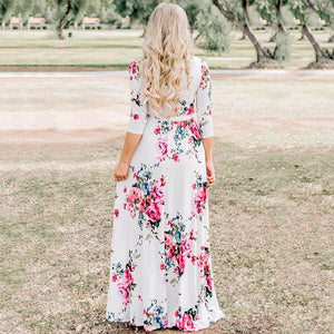 Easy Flowing Floral Maxi Dress