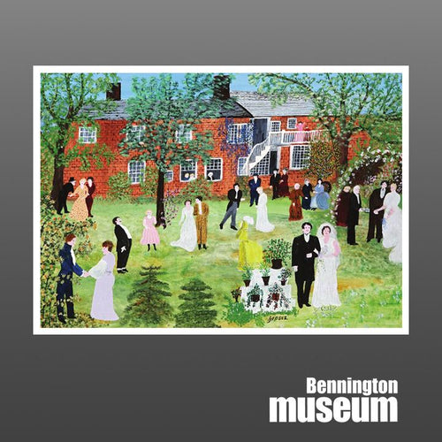 Grandma Moses: Notecard, 'A Country Wedding'