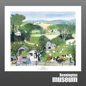 Grandma Moses: Unframed Print, 'At the Well'
