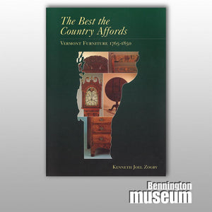 Museum Publication: Catalogue, 'The Best the Country Affords'