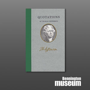 Applewood: Book, 'Quotations of Thomas Jefferson'