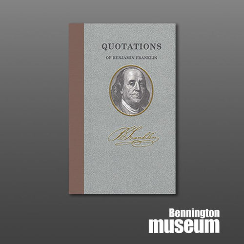 Applewood: Book, 'Quotations of Benjamin Franklin'