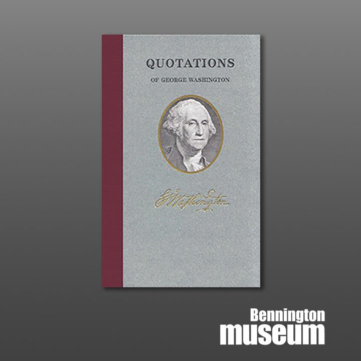 Applewood: Book, 'Quotations of George Washington'