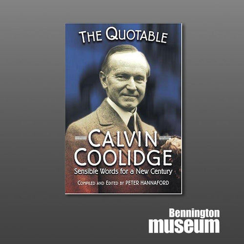 Applewood: Book, 'The Quotable Calvin Coolidge'