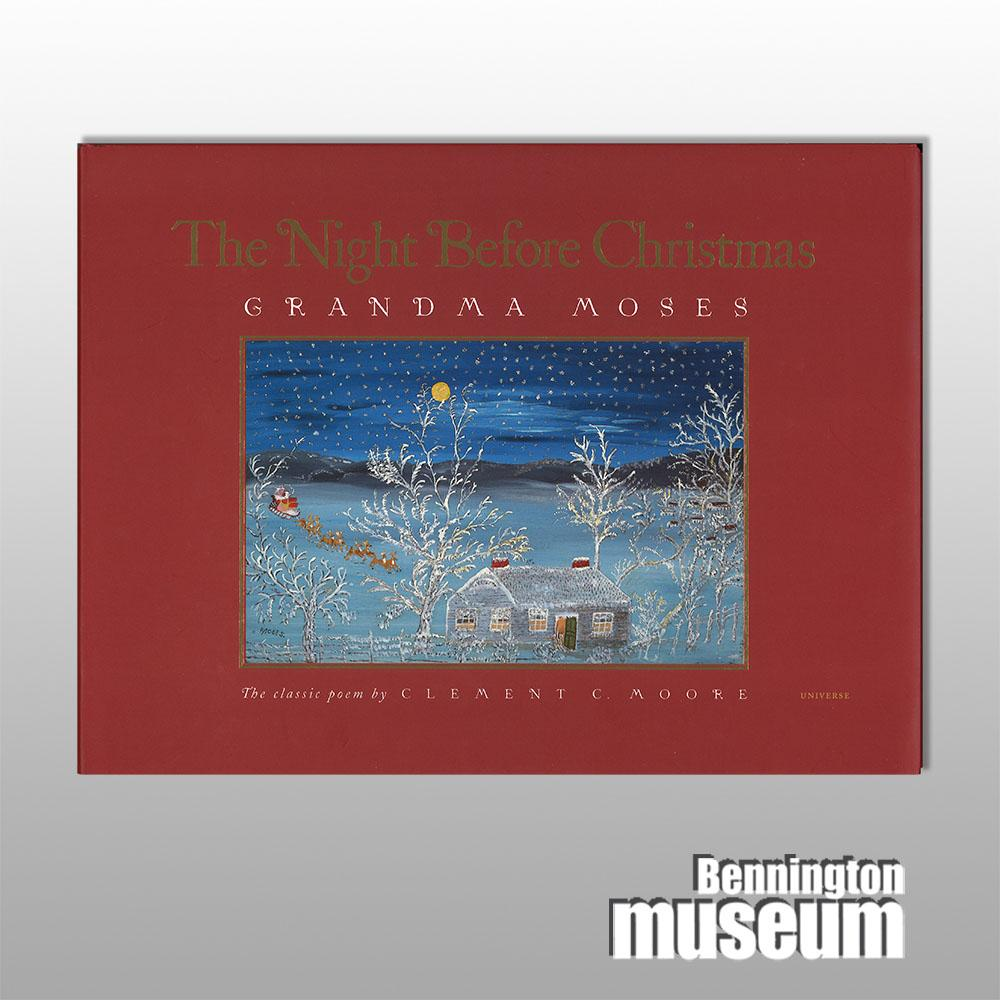 Grandma Moses: Book, 'Night Before Christmas'