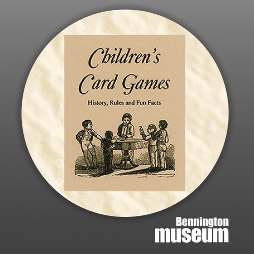 Historic Folk Toys: Book, 'Children's Card Games'