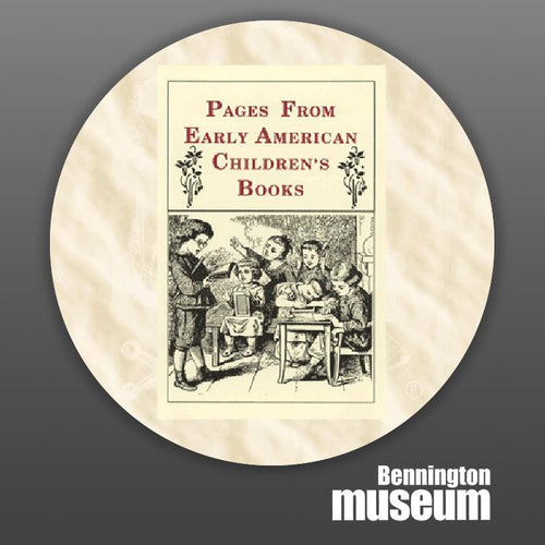 Historic Folk Toys: Book, 'Pages from Early American Child's Book'