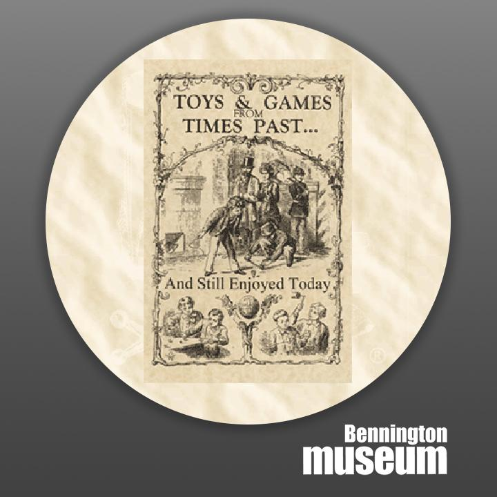 Historic Folk Toys: Book, 'Toys & Games from Times Past'