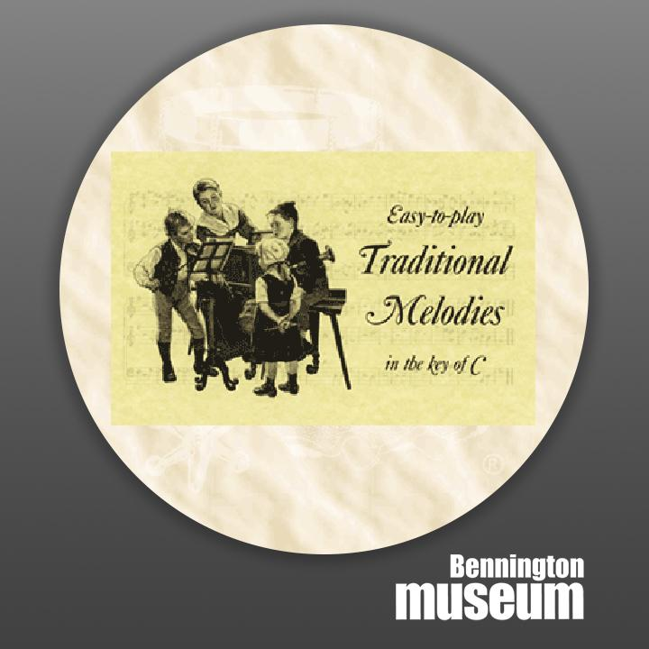 Historic Folk Toys: Book, 'Traditional Melodies in C'