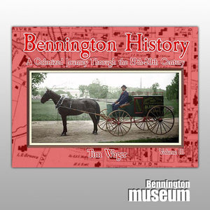 Tim Wager: Book, 'Bennington History' Volume 3