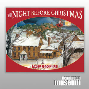 Will Moses: Book, 'Night Before Christmas'