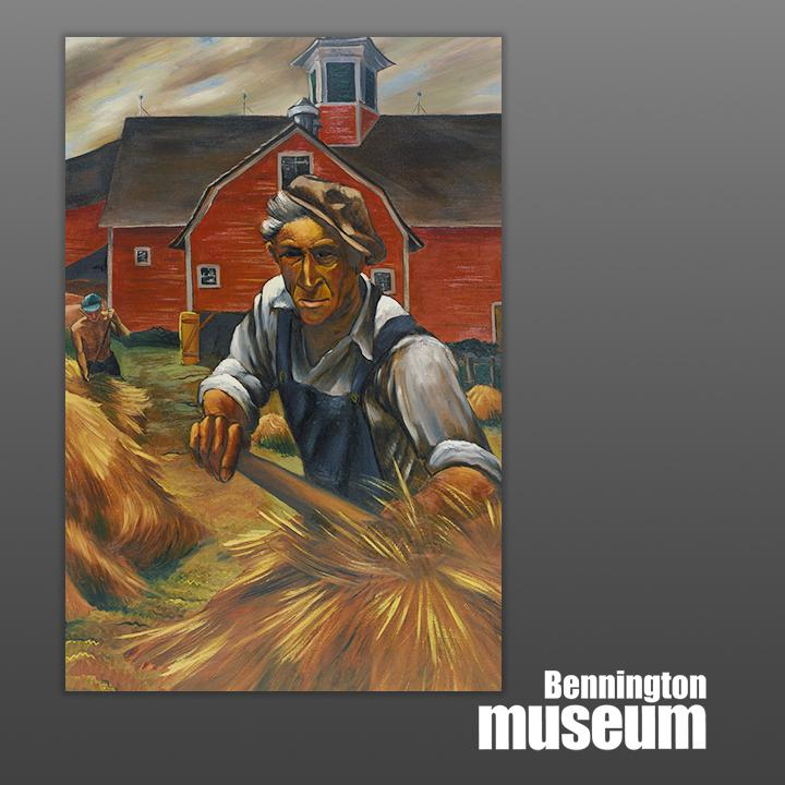 Exhibit Related: WPA, 'Charlie Smith and His Barn'
