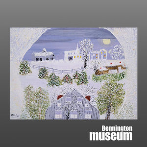 Grandma Moses: Notecard, 'Night Before Christmas Set (24)'