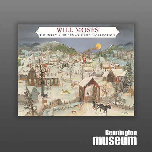 Will Moses: Christmas Card Collection, 'The Snowflake Christmas (24/Set)'