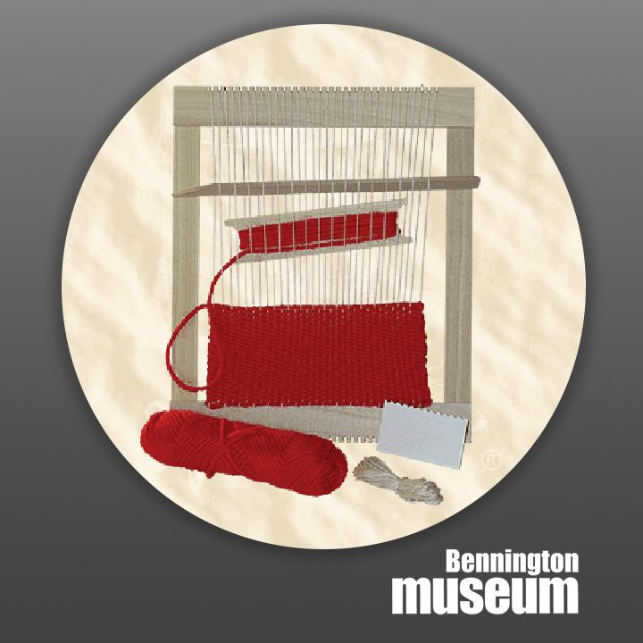 Historic Folk Toys: Craft, 'My First Weaving Loom'