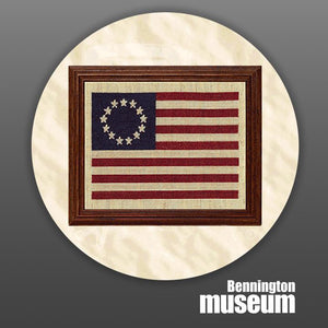 Historic Folk Toys: Craft, 'Early American Flag Cross-Stitch'